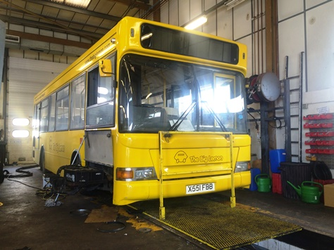 551 in the workshop