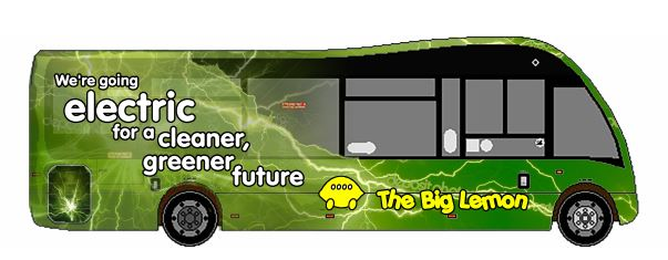 The Big Lemon Solar Bus project with Brighton Energy Coop