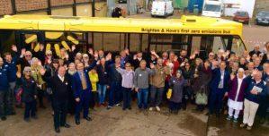 The Big Lemon Solar Bus Launch