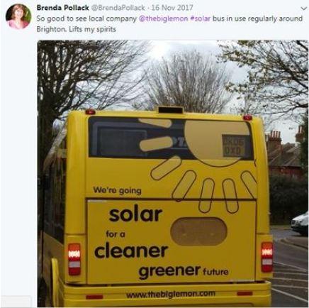 Big Lemon Solar Bus