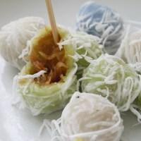 Food Friday - Street sweets - Khanom Tom