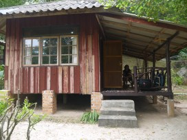 Little wooden bungalow!