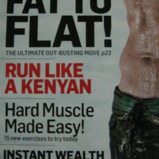 10 things I blissfully ignored from my men's fitness magazines