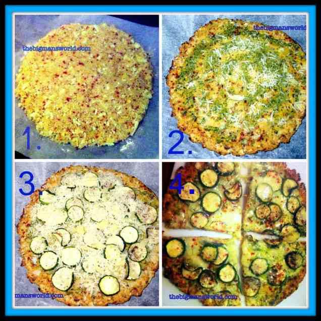 Cauliflower Crust Pizza (Gluten Free)