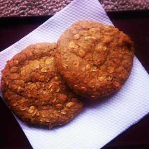 No Bake SunButter Cookies