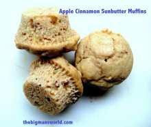 Apple Cinnamon SunButter Muffins