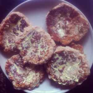 Anzac Biscuit pancakes