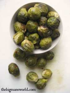 The best roasted Brussels Sprouts ((Paleo, Gluten Free, Vegan)