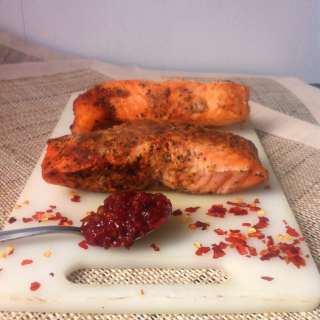 Easy Spicy Ginger Salmon