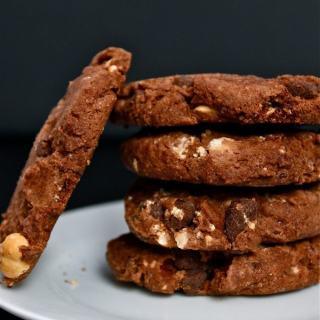 Single Serve Chocolate Chunk Cookies