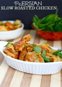 Slow Roasted Persian Chicken- A delicious #glutenfree and #paleo dinner option which is so delicious and super simple to whip up- thebigmansworld.com