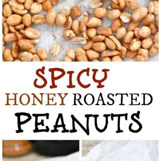 Spicy Honey Roasted Peanuts