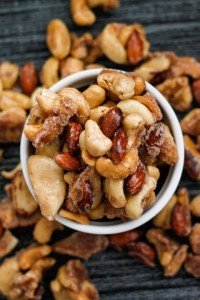 Sugar Free Caramelised Nuts (Gluten Free, Paleo, Vegan, Sugar Free)