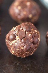 Single Serving Nutella Breakfast Cookie Dough- High in protein, gluten free, sugar free and vegan! -thebigmansworld.com