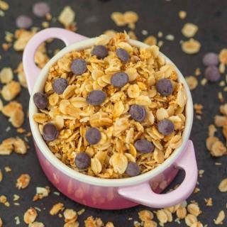 Stovetop Protein Granola (For one)