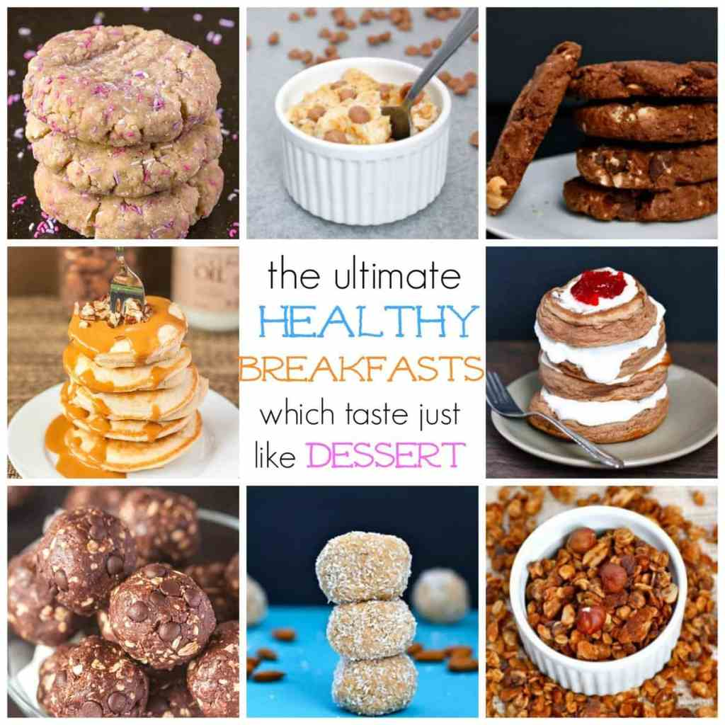 The Ultimate Healthy Breakfasts which taste JUST like dessert- Vegan, Gluten Free, Dairy Free And paleo options! @thebigmnsworld - thebigmansworld.com