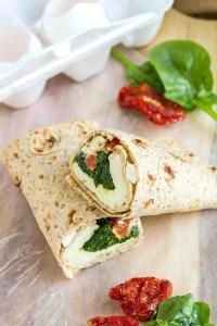 Copycat Starbucks Spinach and Feta Wrap- Healthier and more delicious than the inspiration! @thebigmansworld - thebigmansworld.com