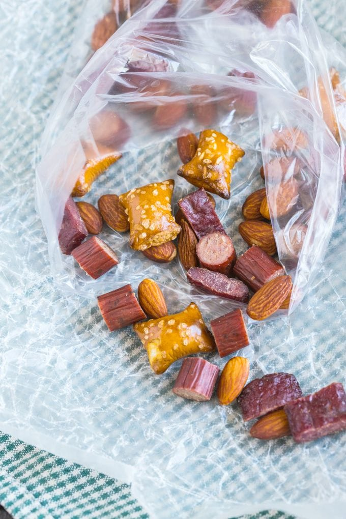Easy DIY Protein Lover's Trail Mix- Customisable and perfect for any weather!