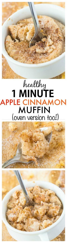 Healthy 1 Minute Low Carb Keto Mug Cakes Paleo Vegan