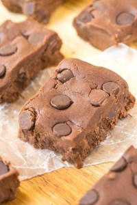 No Bake Death By Chocolate Protein Bars (Paleo, Vegan, Gluten Free)