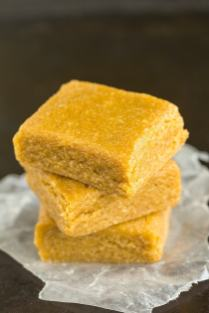 3 Ingredient Maple Almond Fudge (Paleo, Vegan, Gluten Free)