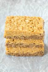 No Bake Marble Rice Crispy Treats (Vegan, Gluten Free)