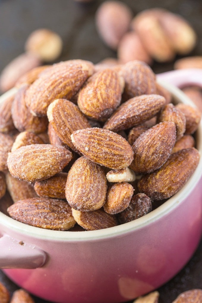 how to make sugar covered almonds