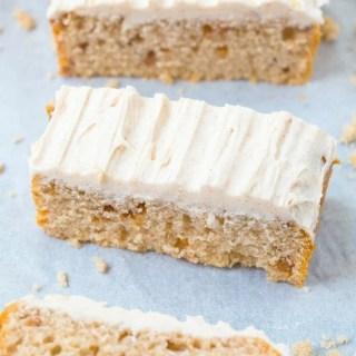 Healthy Flourless Apple Cinnamon Breakfast Cake