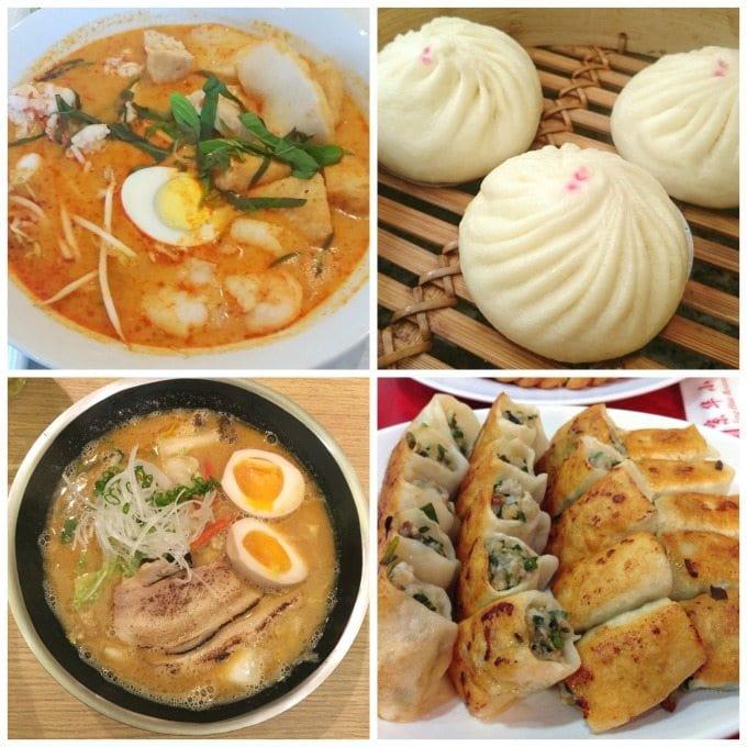 Melbourne Dumplings and Laksa