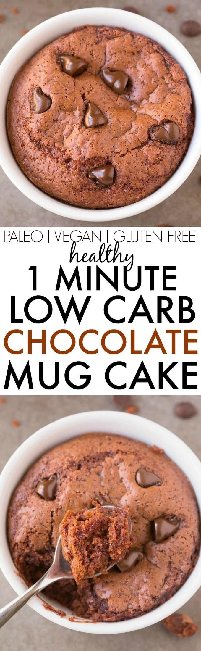 Paleo Chocolate Mug Cake No Egg