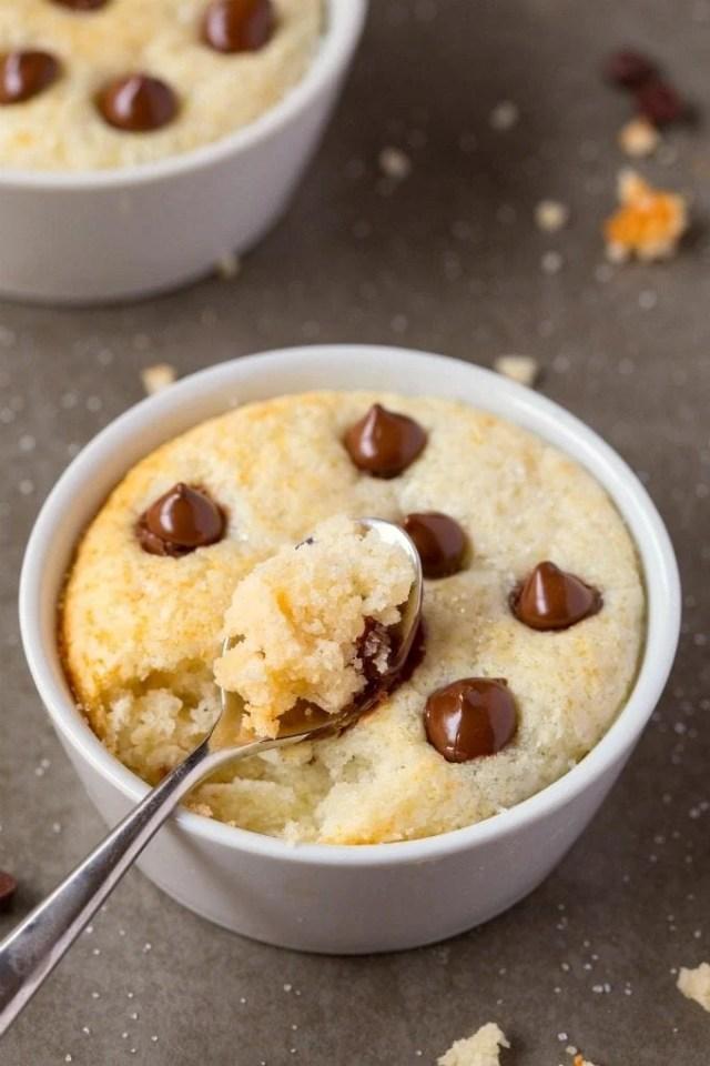 Vanilla Protein Mug Cake Recipe