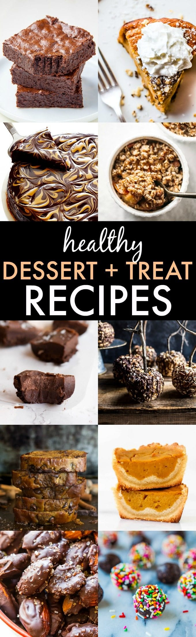 The BEST Skinny and Healthy Holiday Desserts, treats and sweets- Hands down, the BEST dessert and treat recipes ever and ALL healthy recipes! {vegan, gluten free, sugar free, paleo recipe options}- thebigmansworld.com