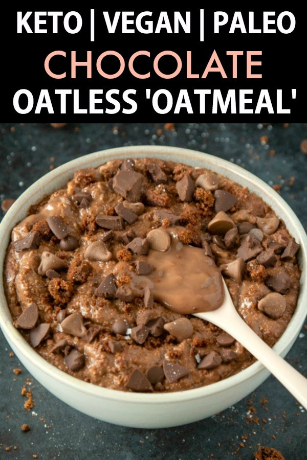 Brownie Batter Breakfast Bowls