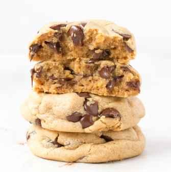 Paleo and Vegan Coconut Flour Chocolate Chip Cookies that are low carb and keto!
