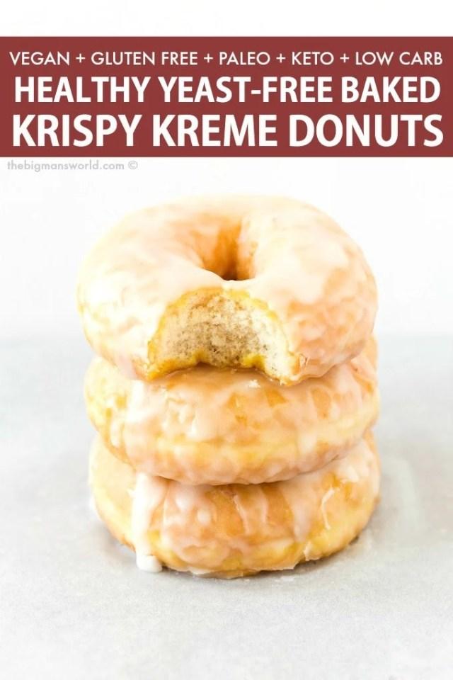Easy Healthy Baked Krispy Kremes Donut Recipe