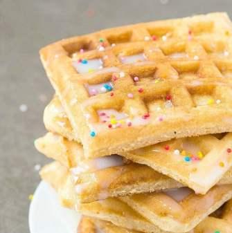 Easy keto and vegan waffles recipe