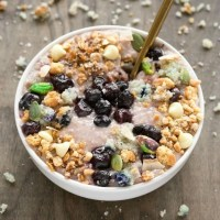 Sugar Free Blueberry Overnight Oatmeal Recipe