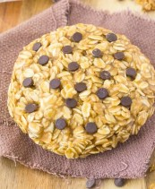 Healthy Single Serve Breakfast Cookie Recipe- Vegan and Gluten Free