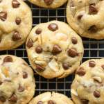 Easy chocolate chip cookies recipe with coconut