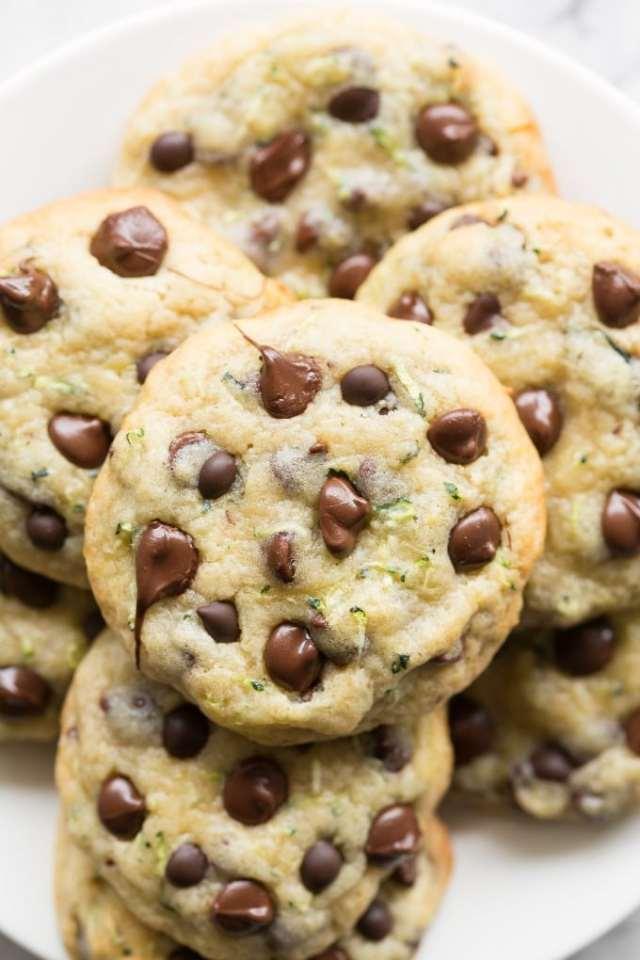Vegan Chocolate Chip Zucchini Cookies Recipe- Paleo and Keto