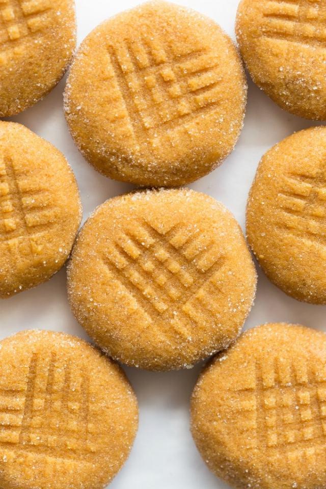 Easy healthy 5 ingredient no bake pumpkin cookies recipe