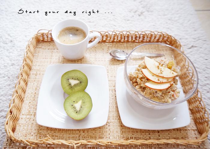 healthy breakfast gesundes frühstück