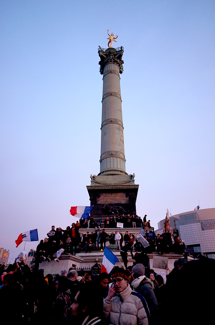 march republicain place de la bastille paris