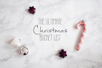 Christmas Weihnachts Bucket List