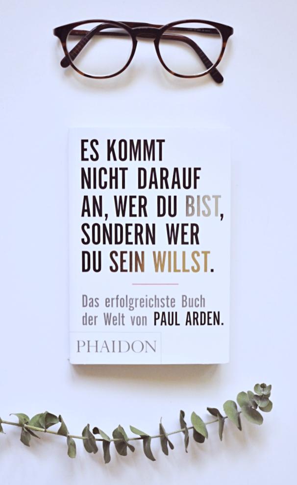Buch Review Empfehlung Paul Arden Es kommt nicht darauf an