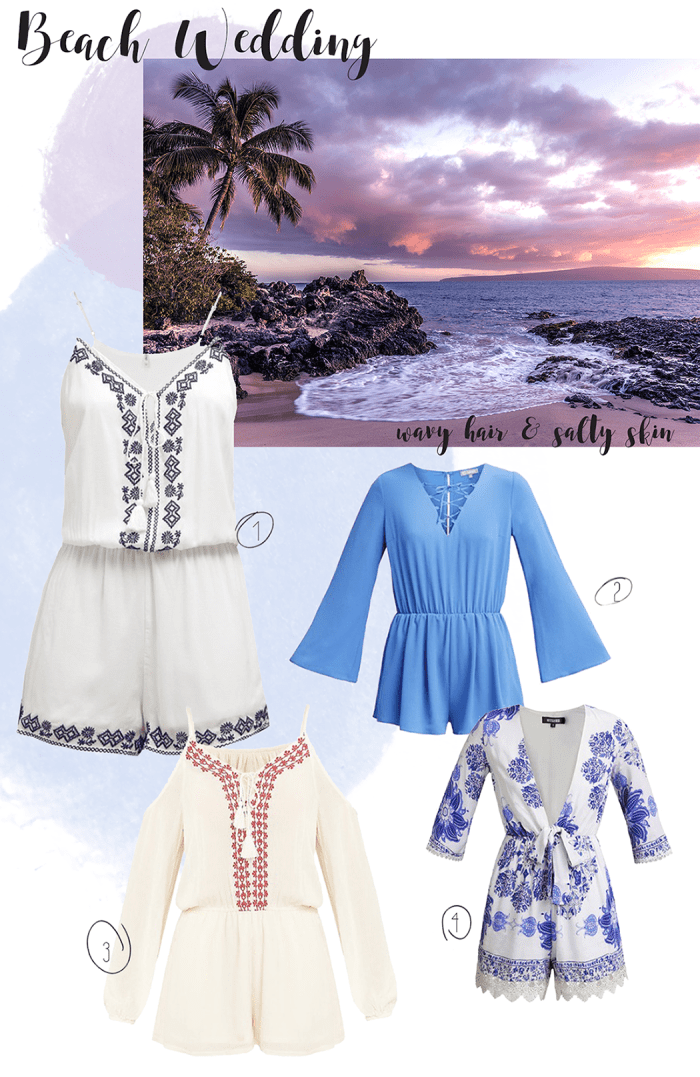 jumpsuits for a beach wedding