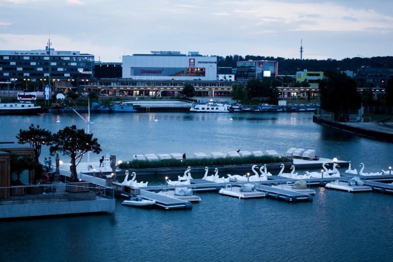 Autostadt Wolfsburg Hafen