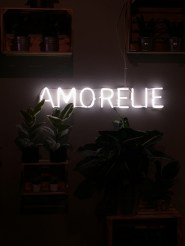 amorelie party night light font neon