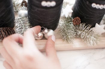 DIY moderner Adventskranz