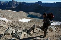 Hiking to Forester Pass, Kings Canyon N.P.